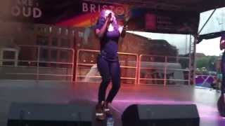 Heather Small - Moving On Up - Bristol Pride 2015