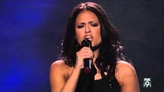 "true HD Pia Toscano ""I'll Stand By You"" - Top 24 (12 girls) American Idol 2011 (Mar 2)"