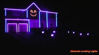 Halloween Light Show 2014 - All About That Bass by Meghan Trainor