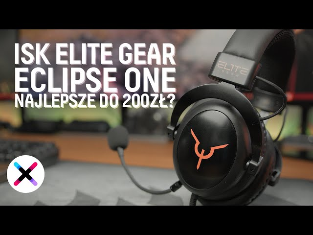 NAJLEPSZE SŁUCHAWKI DO 200ZŁ dla GRACZA? 😍 | Test, recenzja ISK Elite Gear Eclipse One