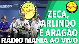🔴 Radio Mania - Zeca, Arlindo e Aragão - Minta Meu Sonho