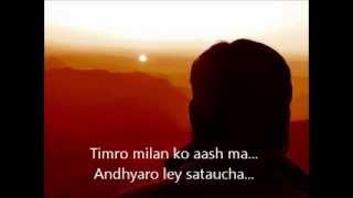 Jaba sandhya huncha - Cover (Sunand Raj Shakya)