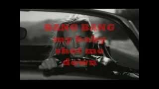 Kill Bill Soundtrack - BANG BANG (My baby shot me down) + Lyrics - Nancy Sinatra