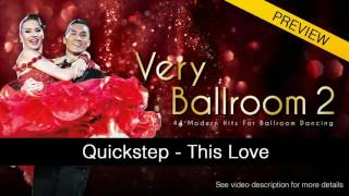 QUICKSTEP | Vintage Vegas - This Love (50 BPM)