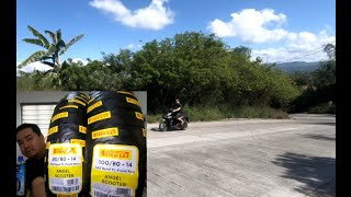 Pirelli Tire Upgrade on my New Honda Click 150i Unwrapping and Review!