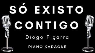 Diogo Piçarra - Só Existo Contigo - Piano com letra