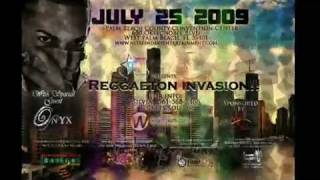 Zion & Lennox  y Jowell & Randy in West Palm Beach Convention Center July 25 2009