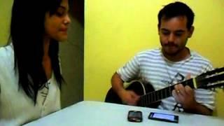 """Kétura e Junio cantando """"É Isso Ai"""" - Ana Carolina e Seu Jorge"""
