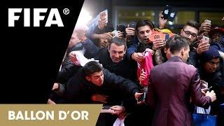 CORRECTED: Red Carpet at FIFA Ballon d'Or Gala 2014