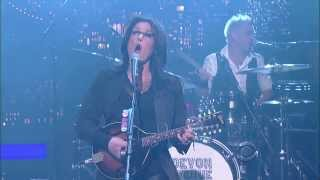 Devon Avenue Raised The Enemy - David Letterman 01 24 2014