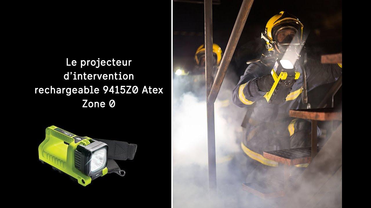 Projecteur Peli™ 9415Z0 Atex Zone 0 rechargeable