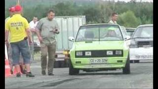 BMW 535d vs. Yugi Cabrio Turbo Drag Race EESLC