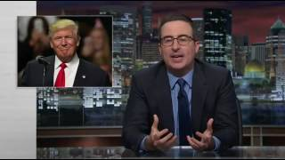 Shocking! John Oliver reveals that he wanted Trump to run for president!