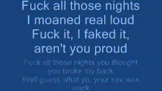 Fuck you right back lyrics photo 99