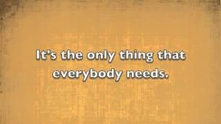 Aloe Blacc-Love is the answer Lyrics