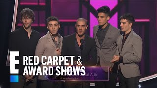The People's Choice for Favorite Breakout Artist is The Wanted