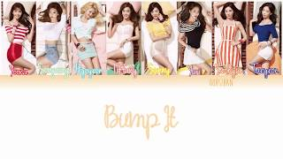 GIRLS' GENERATION (소녀시대) SNSD – BUMP IT (예감) Lyrics Color Coded [Eng/Han/Rom]