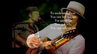 Jason Mraz- You Can Rely On Me (Lyrics)