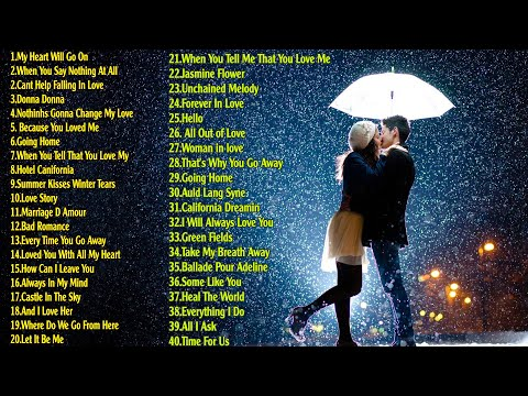 Most Old Beautiful Love Songs 80s 90s Best Romantic Sax, Guitar, Piano Love Songs Of 80s, 90s