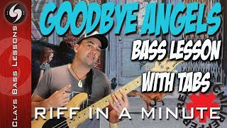 GOODBYE ANGELS (slap solo) - Bass Lesson with TABS - RHCP