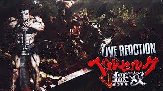 LIVE REACTION : Berserk Musou - Gameplay Trailer & Quick Analysis