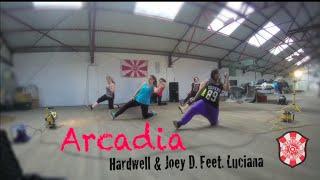 Arcadia - Hardwell & Joey Dale Feat. Luciana - Choreography by Kelly Baldonado