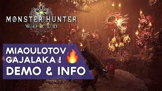 Monster Hunter World FR : le MIAOULOTOV ! 🔥🔥🔥