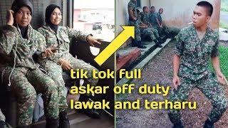 Tik tok terbaru full askar off duty korang mesti terharu 😞😞