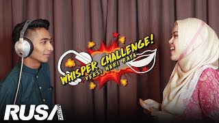 Ayie Floor 88 & Sheryl Shazwanie - Whisper Challenge!