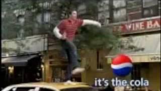 Pepsi Newton Streamline Commercial