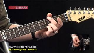 How To Play Shoot To Thrill by AC/DC | Guitar Lesson Intro | Licklibrary