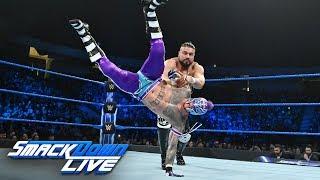Rey Mysterio vs. Andrade: SmackDown LIVE, Jan. 15, 2019