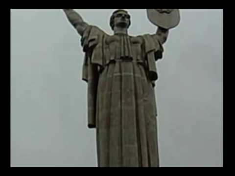 Best Day of My Life at The Mother Motherland Statue in Kiev (Kieran Griffith)