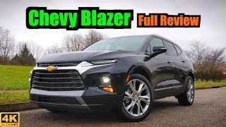 2019 Chevy Blazer: FULL REVIEW + DRIVE | Introducing the Camaro Crossover!