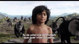 O LIVRO DA SELVA Trailer PT