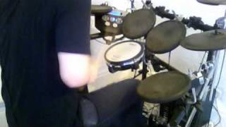 Aaron Kitcher - We Are The End - 'When Children Become Sidewalks' - [Drum Cover]