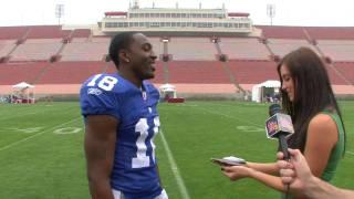 Hakeem Nicks: Quickest Hands in the NFL?