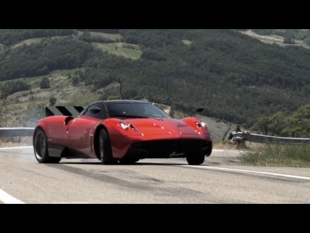 Pagani Huayra: Test Drive in Italy - /CHRIS HARRIS ON CARS