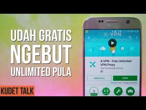 Download Video Aplikasi VPN Terbaik Gratis & Unlimited | X VPN