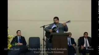 Clayton Queiroz, Confiarei de Giselli Cristina na AD Vale Azul
