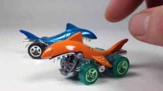 Shark Bite - Hot Wheels 2016 Recolor Update