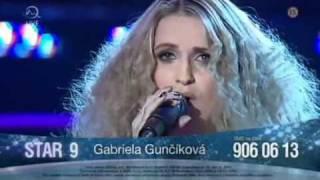 Gabriela Gunčíková - Země vzdálená - B.S.P.  - finále CS hledá Superstar