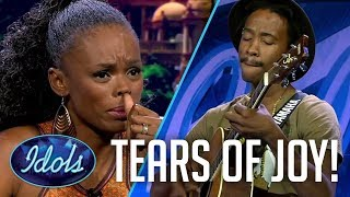 Emotional Judge is BLOWN AWAY On Idols South Africa Season 13 2017