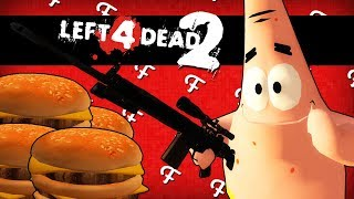 L4D2: Attack of the Krabby Patty Zombies! (Left 4 Dead 2 Spongebob Edition - Comedy Gaming)