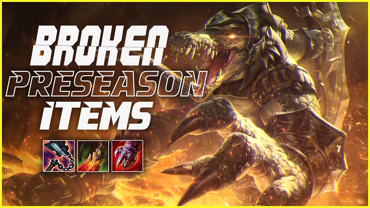 Lourlo - Lourlo | RENEKTON IS BUSTED WITH THESE PREASEASON ITEMS