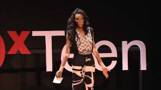 My story is painted on my body | Chantelle Brown-Young | TEDxTeen