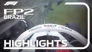 2019 Brazilian Grand Prix: FP2 Highlights