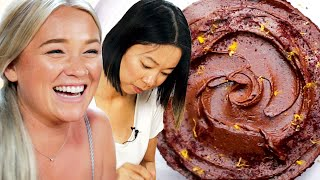 We Tried To Make A Zero Waste Chocolate Cake • Goodful width=