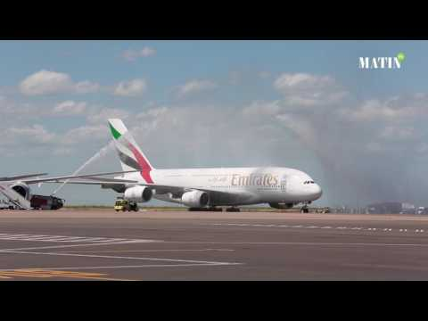Emirates choisit le Maroc pour le premier vol de l'A380 en Afrique du Nord