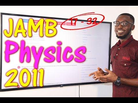 JAMB CBT Physics 2011 Past Questions 17 - 32